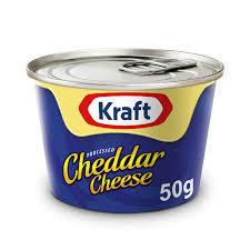 Kraft Tin Cheese 50g