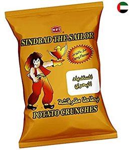 Sindbad Potato Twist Spicy 25x15g