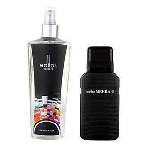 Meera 3 Fragrance Mist 250ml
