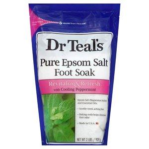 Dr. Teal's Cooling Peppermint Epsom Bath Salt 909g