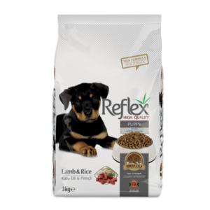 Reflex Premium Puppy Food Lamb-Rice 3kg