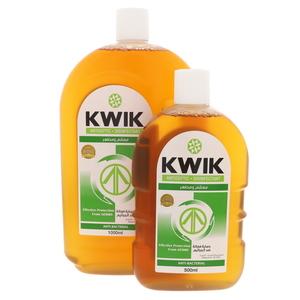 Kwik Antiseptic Disinfectant 1000ml+500ml
