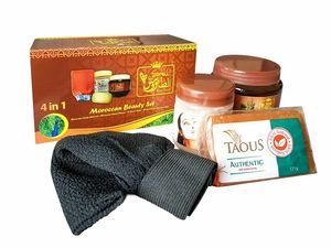 Royal Taous 4 in 1 Moroccan Beauty Set 500g