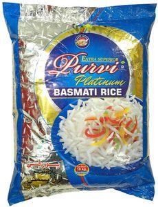 Purvi Platinum Basmati Rice 5kg