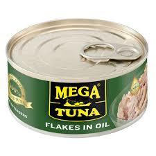 Mega Tuna Flakes Assorted 4x180g