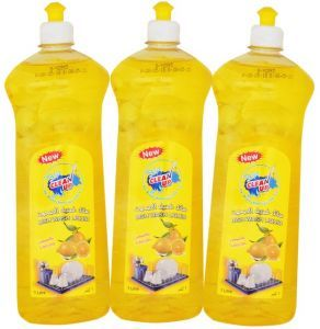 Clean Up Dish Wash Liquid Lemon 3x1L
