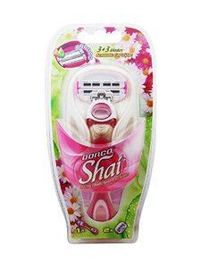 Dorco Shai 4 Disposable Razors for Women 3s