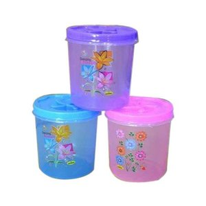 Sunny Plastic Clear Container with Lids 20s