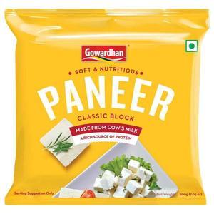 Gowardhan Fresh Paneer Cubes 1kg