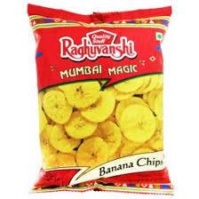 Raguvanshi Banana Wafer Yellow 180g
