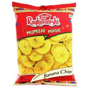 Raguvanshi Banana Wafer Spicy 180g