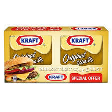 Kraft Original Cheese Slice 2x200g