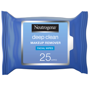 Neutrogena Makeup Remover Face Wipes Deep Clean 25s