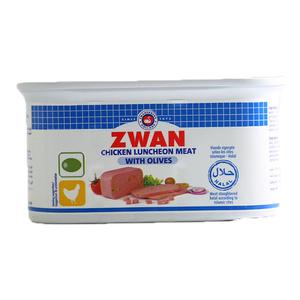 Zwan Chicken Luncheon Meat with Olives 2x200g