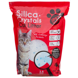 Crystal Cat Litter Silica 4.15kg