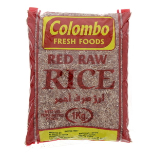 Colombo Red Raw Rice 1kg