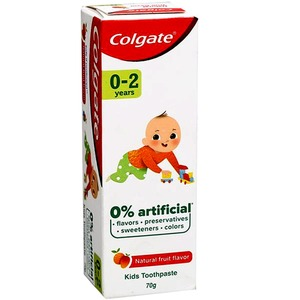 Colgate Natural Fruit Flavour Toothpaste for Kids 40ml