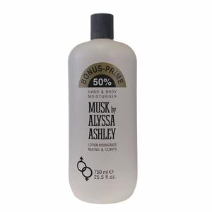 Alyssa Ashley Musk Hand & Body Lotion 1pc