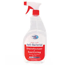 Cool & Cool Disinfectant Spray 2x300ml