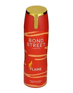 Bond Street Flame Deodorant Spray 100ml+200ml