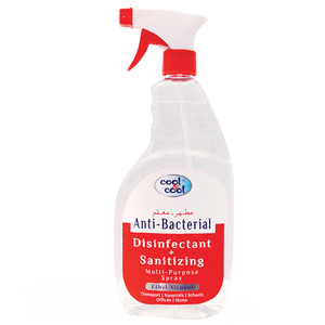 Cool & Cool Disinfectant Spray 2x750ml
