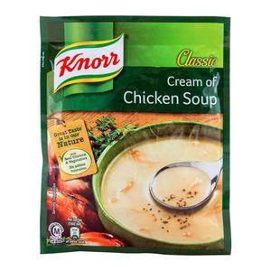 Knorr Cream of Chicken Soup 4x54g