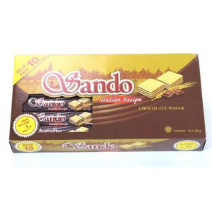 Sando Choco Wafer Special Offer Pack 12x32g