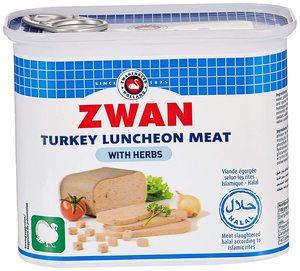 Zwan Luncheon Meat Turkey 2x200g