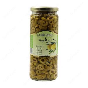 Cordoba Slice Green Olives 3x275g