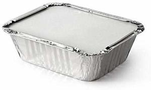 Sunny Aluminum Container with Lids 10s