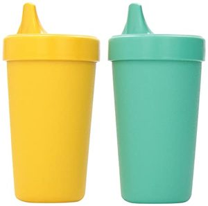Sunny Ripple Cups with Sipper Lids 8oz