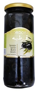 Cordoba Sliced Black Olives 230g