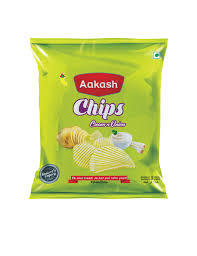 Aakash Cream And Onion Chips 130g