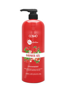 Cosmo Temptation Strawberry Shower Gel 1000ml