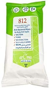 Aroma Anti-Bacterial Soft & Clean Wipes 10s