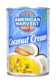 American Harvest Coconut Cream 400ml