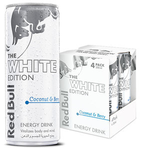 Red Bull Energy Drink Coconut & Berry Outer Pack 4x250ml