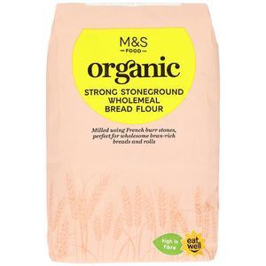 Organic Strong Wholemeal Bread Flour 1500g