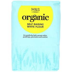 Organic Self Raising White Flour 1500g