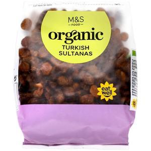 Organic Turkish Sultanas 375g