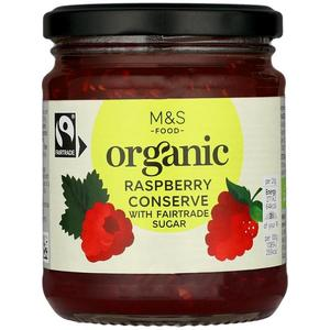 Organic Raspberry Preserve 340g
