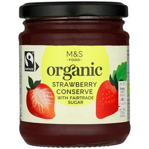 Organic Strawberry Preserve 340g
