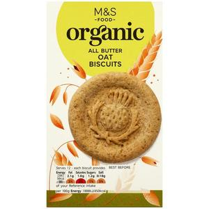 Organic Oat Biscuits 150g