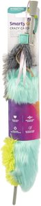 Smartykat Crazy Catch Crinkle And Catnip Wand Cat Toy 1pc