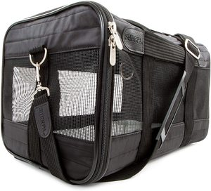 Sherpa Travel Original Deluxe Airline Approved Pet Carrier Brown Large 1pc