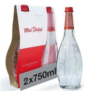Mai Dubai Still Glass Bottle Water 2x750ml