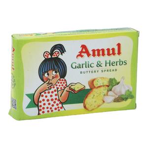Amul Garlic & Herb Salted Butter 100g