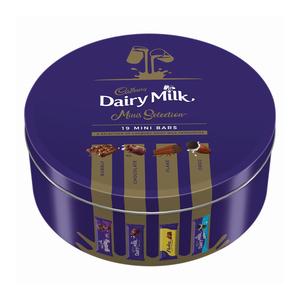 Cadbury Milk Chocolate Assortment Tin 250g