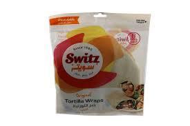Switz Bread Tortilla 360g