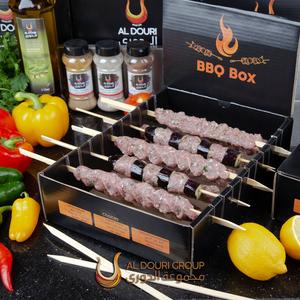 Aldouri Barbeque Box Skewered Kabab 1kg